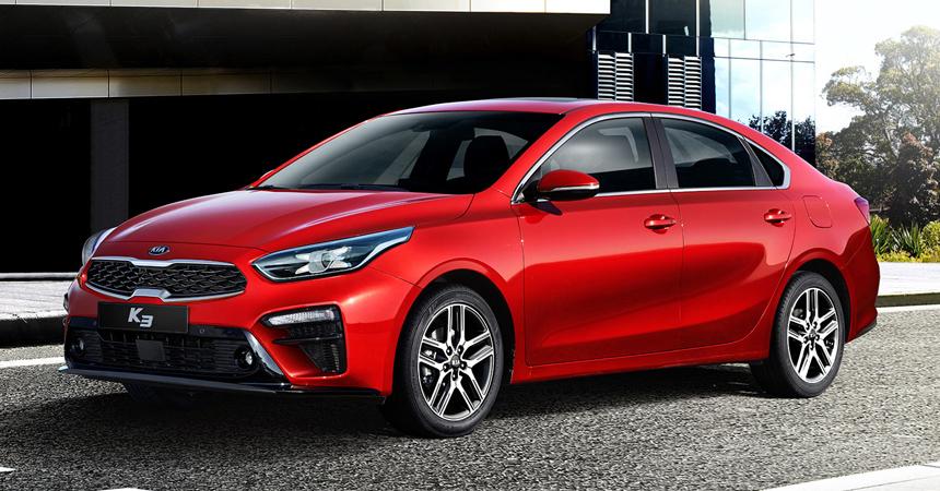 Kia представила новое поколение седана Kia K3 с новым двигателем