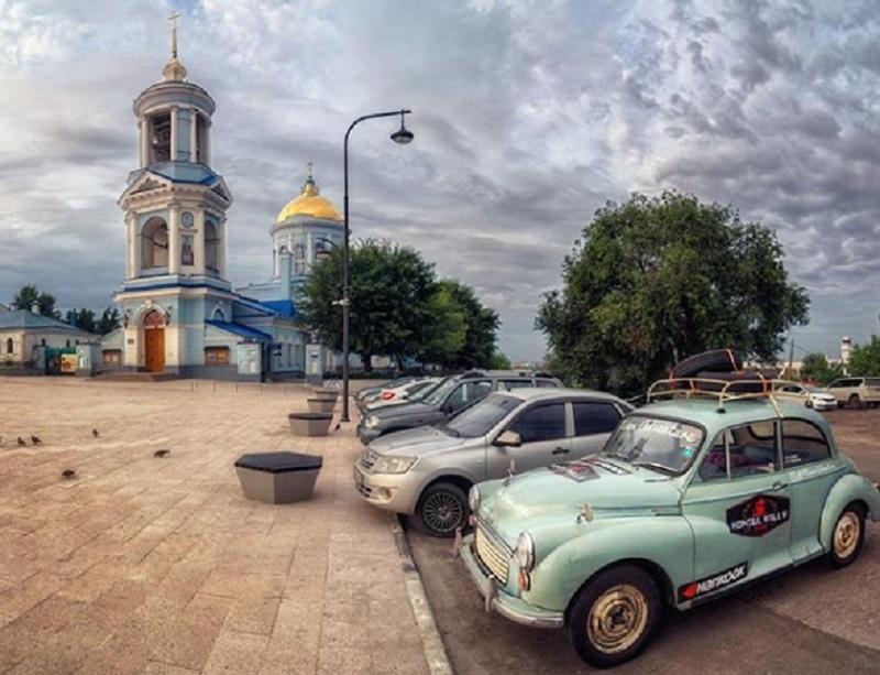 Раритетный Morris Minor 1967 года заметили на дорогах Воронежа