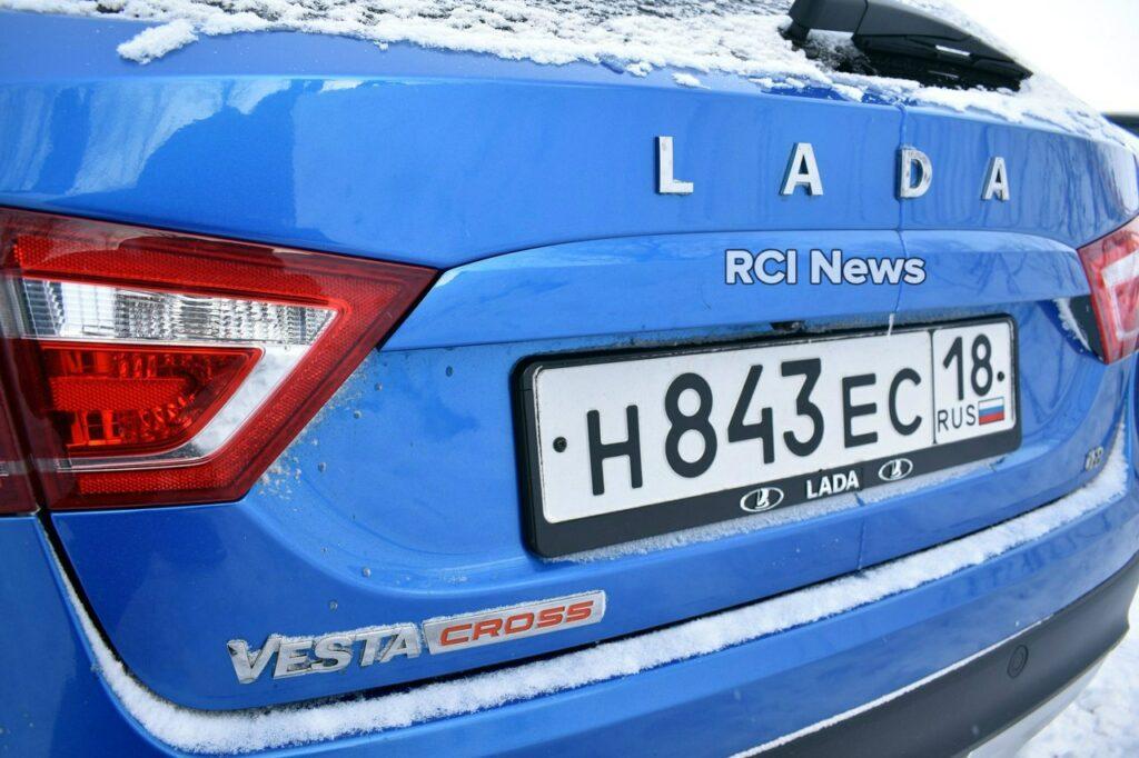 Опубликованы новые фото роскошной версии Lada Vesta SW Cross Exclusive