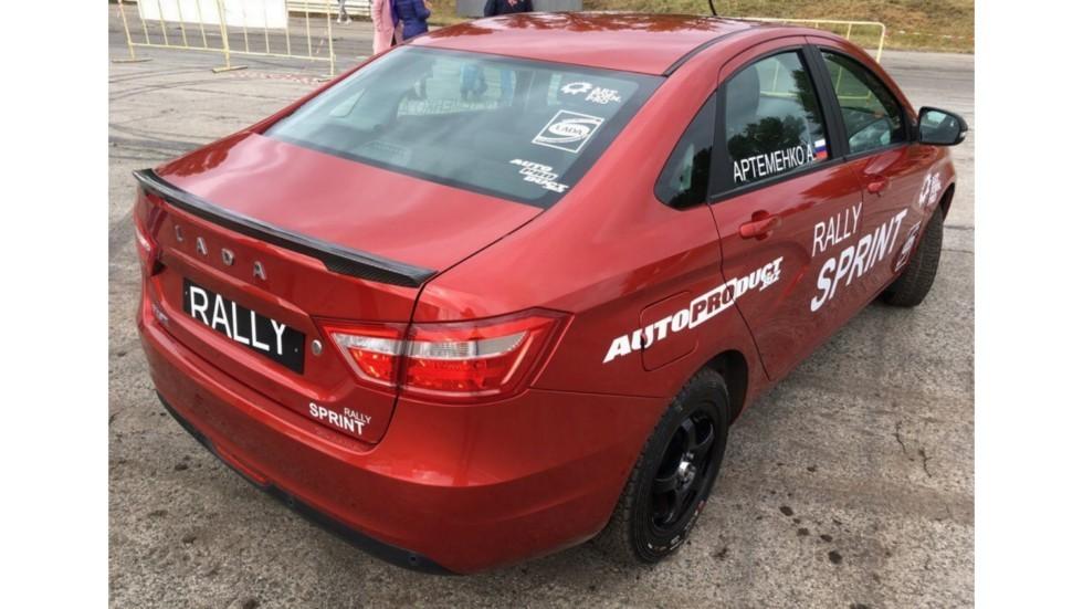 Стартовала разработка новой кросс-версии Lada Vesta Rally Sprint