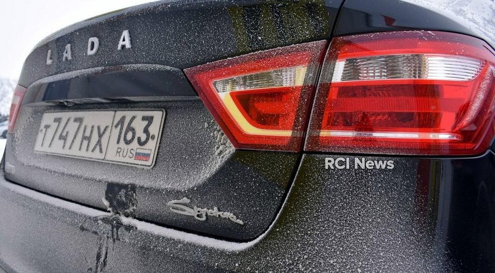 На фото рассекречена «роскошная» Lada Vesta президента «АвтоВАЗа»