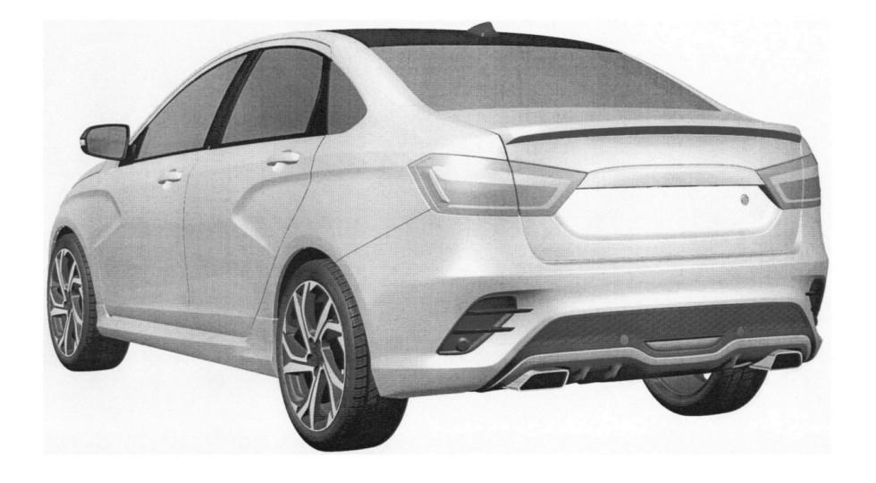 Дизайн нового седана LADA Vesta Sport рассекречен в Сети