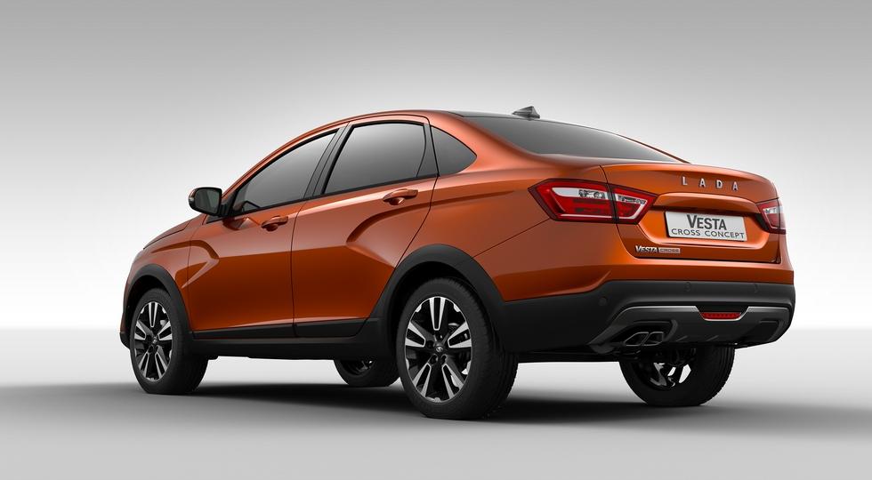 «АвтоВАЗ» представил внедорожную версию седана LADA Vesta
