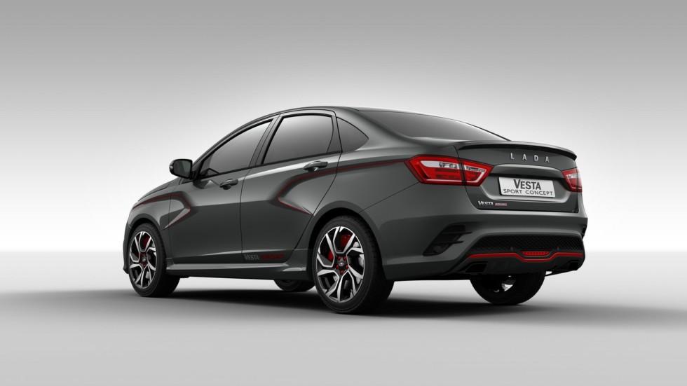 «АвтоВАЗ» готовится начать серийное производство LADA Vesta Sport