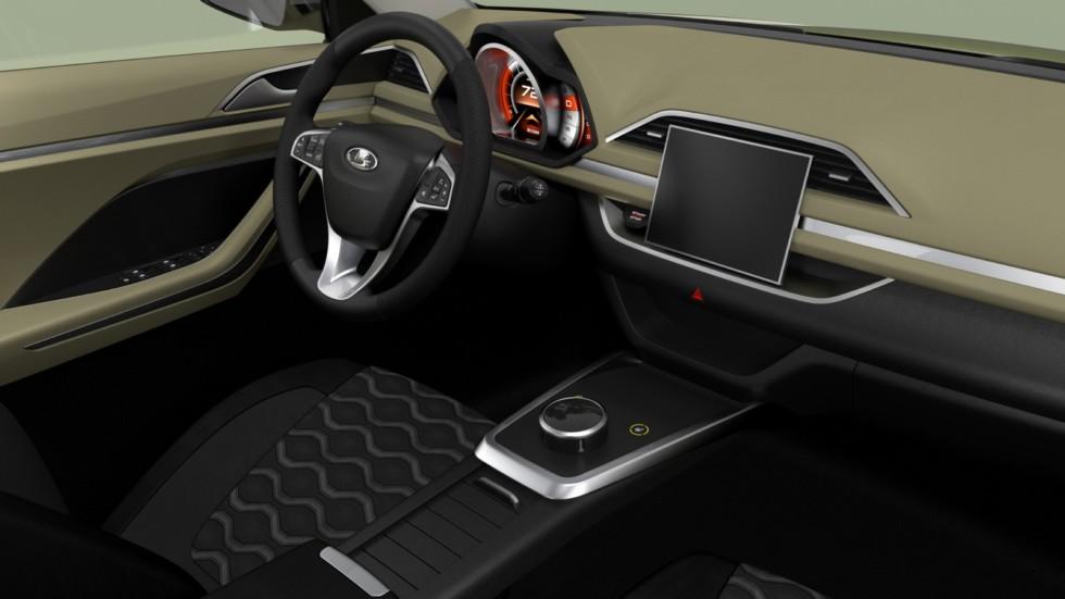 Новый кроссовер LADA XCode запатентовала компания «АвтоВАЗ»