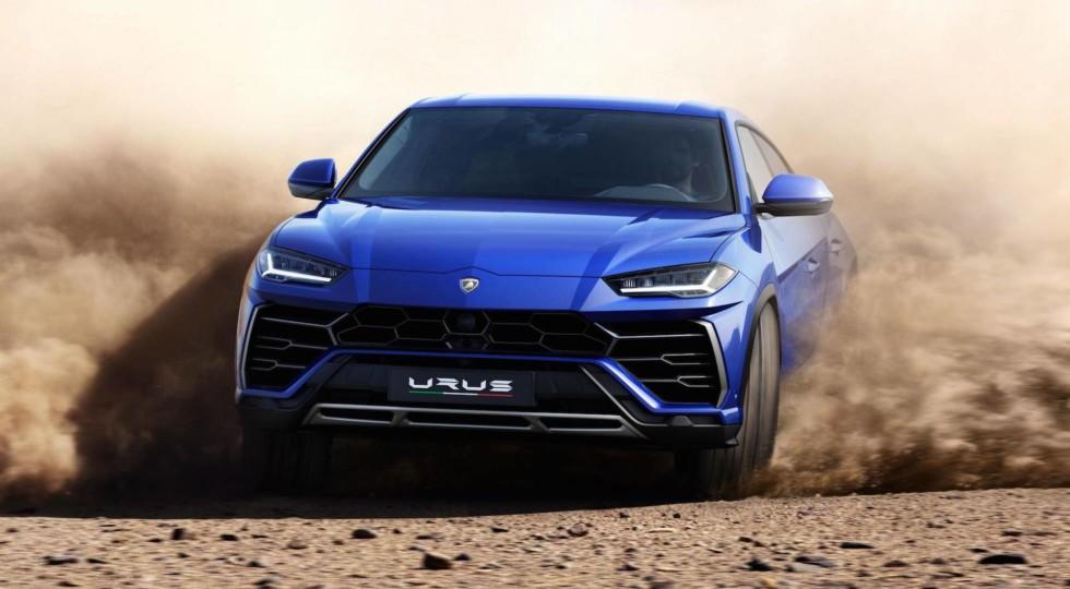 Новый Lamborghini Urus получит гибридную версию с мотором от Panamera