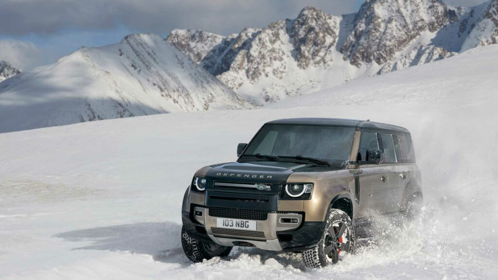 Во Франкфурте представили новый Land Rover Defender