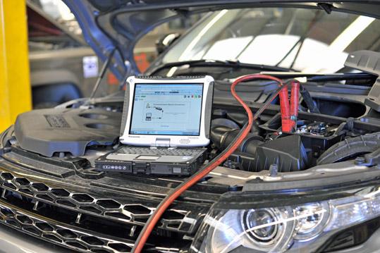 Компьютерная диагностика Land Rover и Jaguar