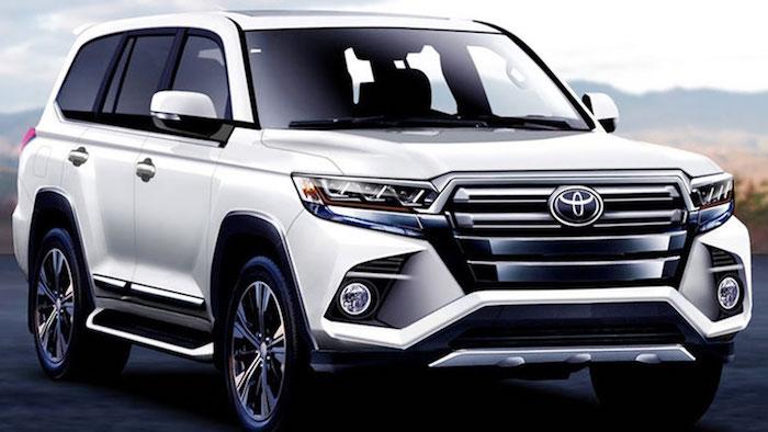 Появилась информация о Toyota Land Cruiser 300 нового поколения
