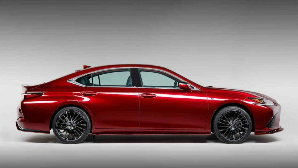 Lexus на SEMA показал седан Lexus ES для любителей вина