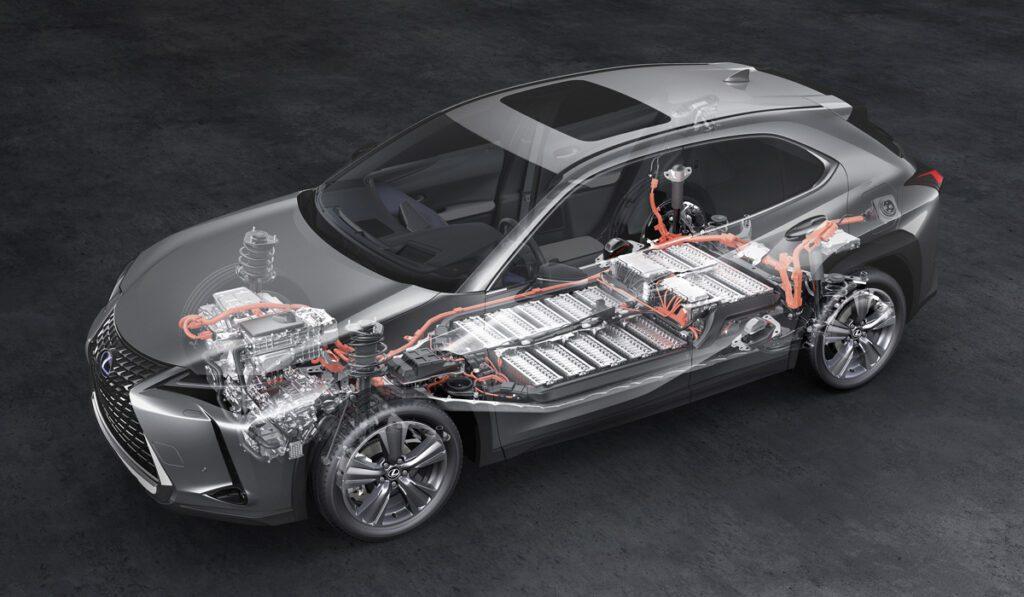 Представили электрический кроссовер Lexus UX 300e