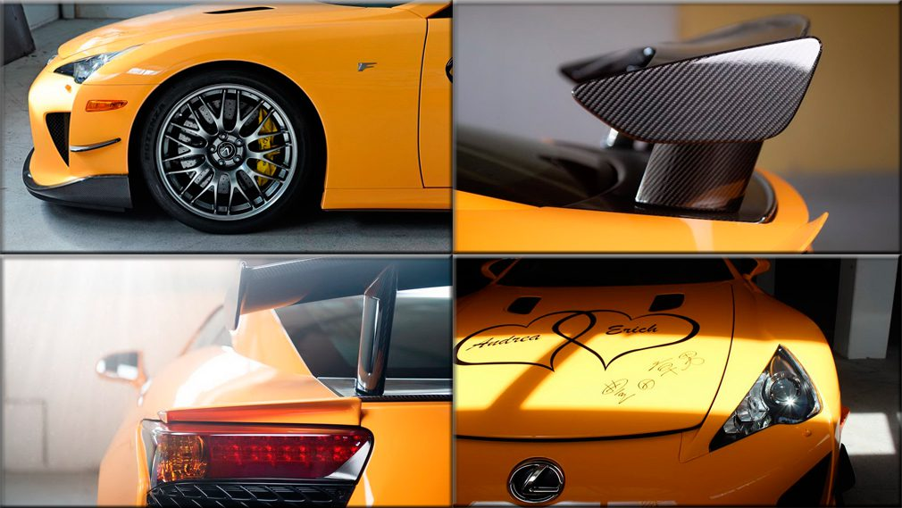 Уникальный спорткар Lexus LFA Nurburgring Edition выставили на продажу