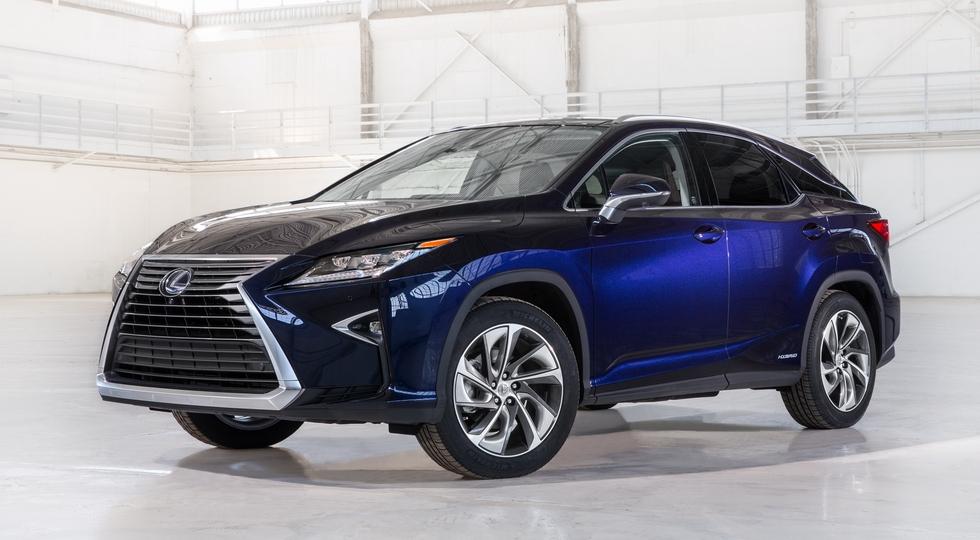 Lexus анонсировала дату премьеры пятиметрового кроссовера RXL
