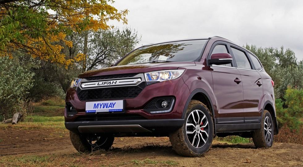 Lifan X50 возглавил ТОП-10 самых популярных в России китайских SUV