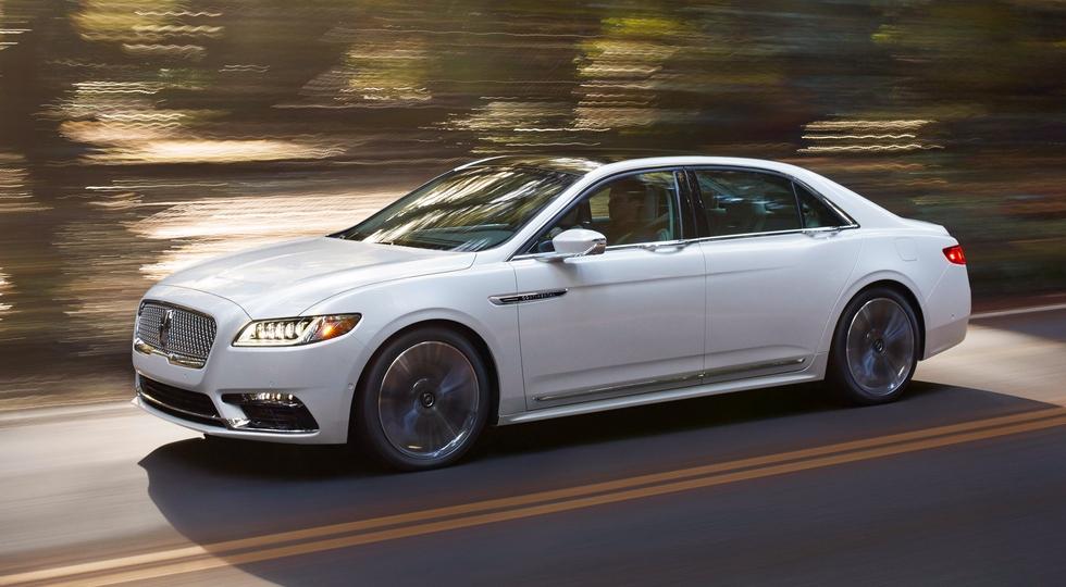 Компания Lincoln может отказаться от седана Continental