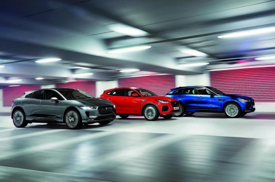 Jaguar выпустит новый кроссовер Jaguar J-Pace в 2021 году