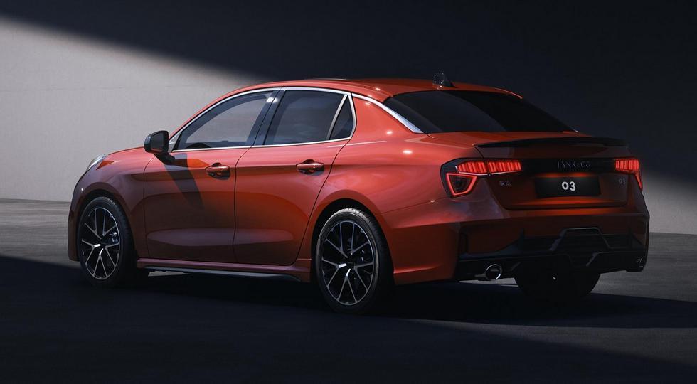 Volvo и Geely показали фотографии нового серийного седана Lynk & Co 03