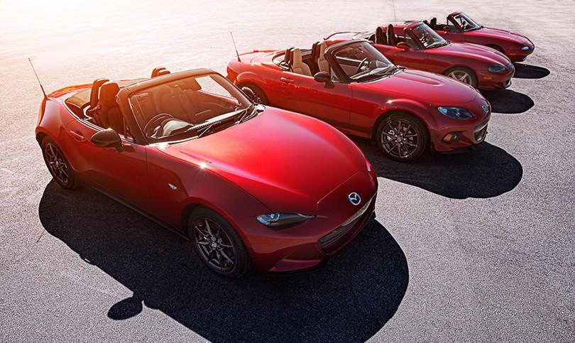 Обновленный родстер Mazda MX-5 получит новый мотор