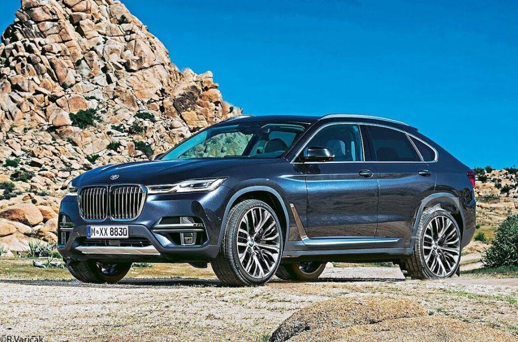 Новый роскошный кроссовер BMW X8 появится в продаже в 2020 году
