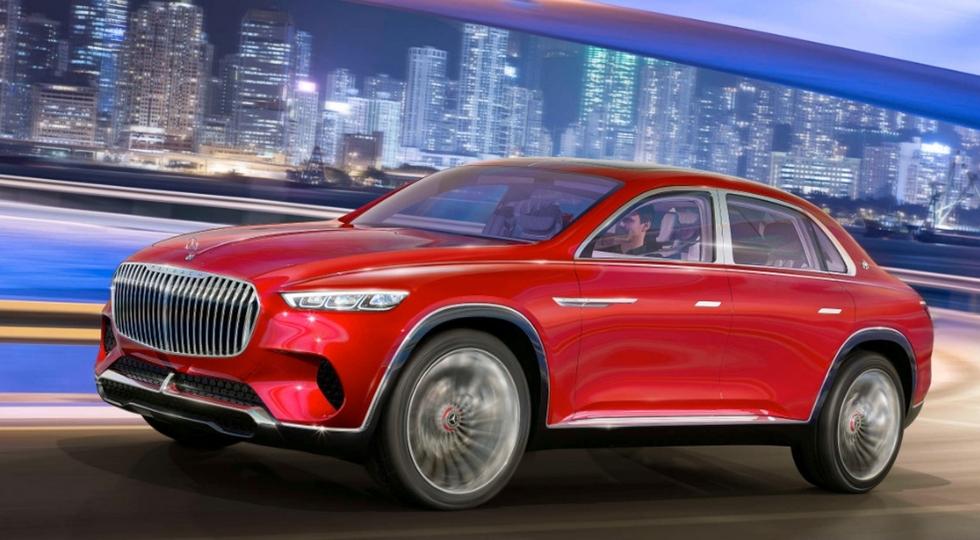 Mercedes-Benz выпустит серийную версию концепта Maybach Ultimate Luxury