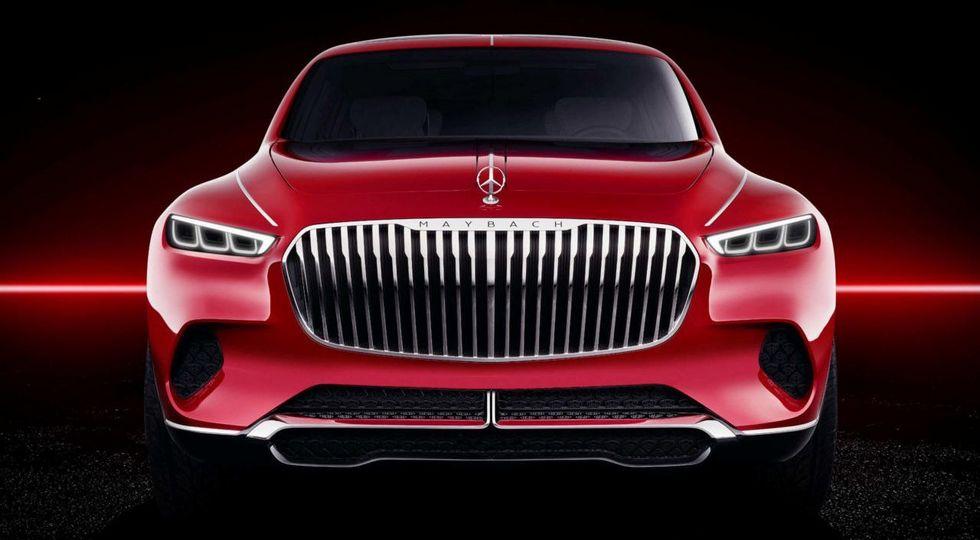 В Сети рассекретили внедорожный седан Mercedes-Maybach Ultimate Luxury