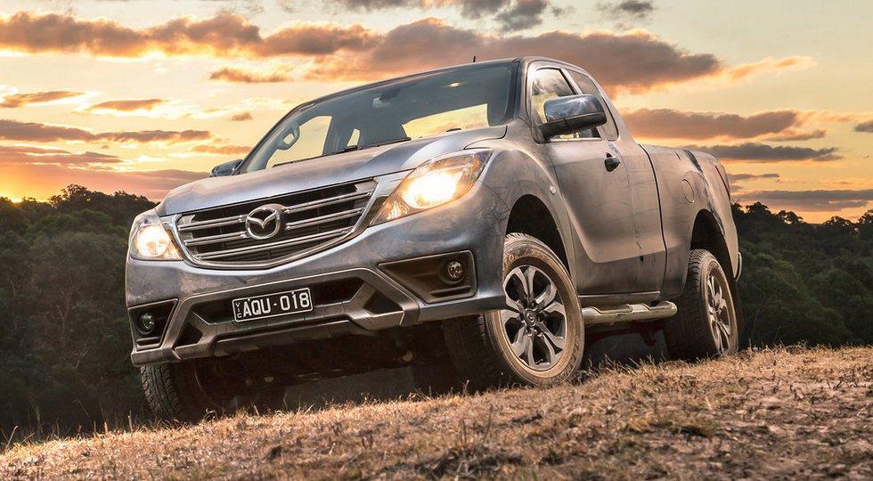 Mazda официально представила слегка обновленный пикап BT-50
