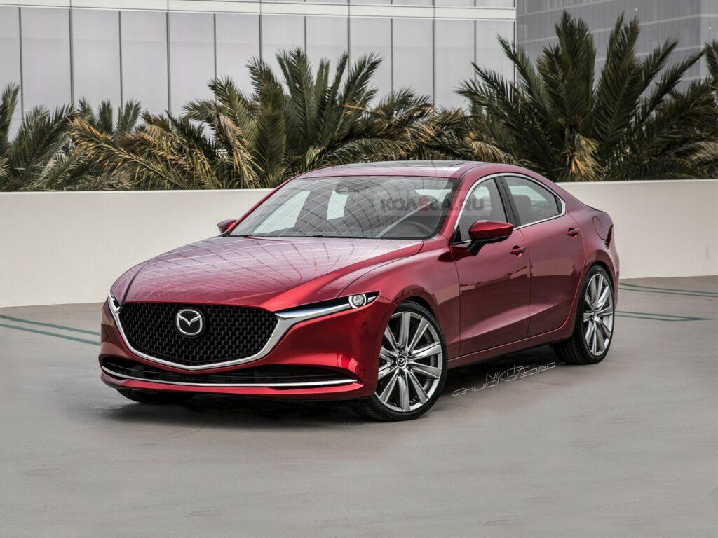 Представлены изображения новой Mazda 6