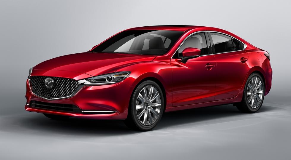 Обновленный седан Mazda 6 приедет в РФ в первой половине 2019 года