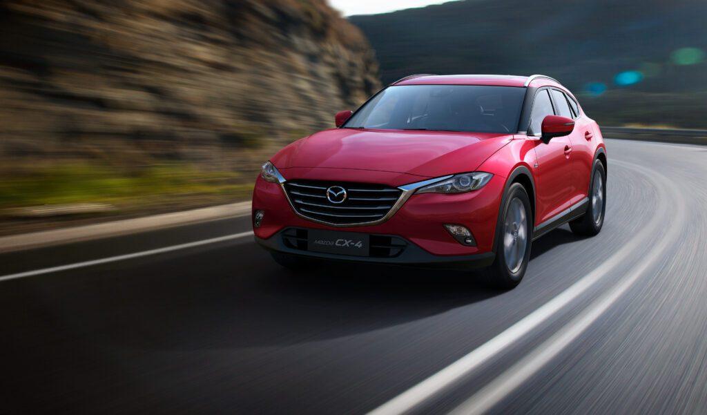 Обновленный Mazda CX-4 получил управление при помощи смартфона