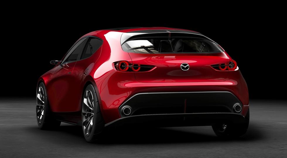 Mazda на автосалоне в Токио показала предвестника нового Mazda 3