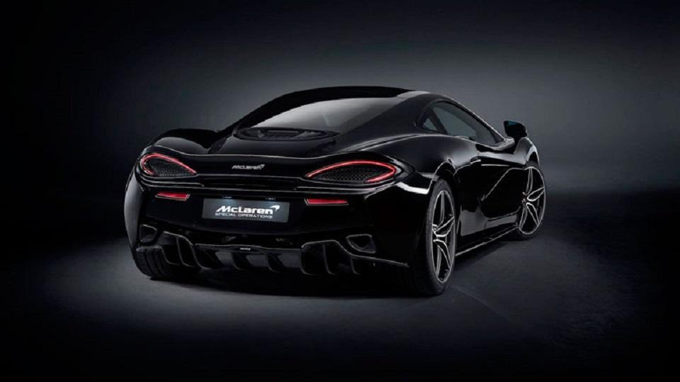 """Компания McLaren выпустит 100 очень """"чёрных"""" суперкаров McLaren 570GT"""
