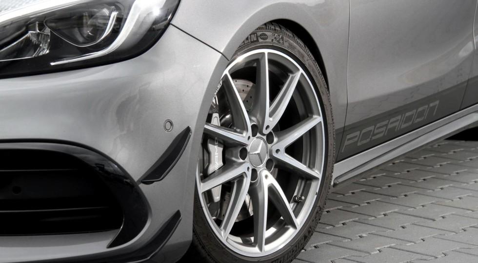 Тюнинг-ателье Posaidon представило 558-сильный Mercedes-AMG A45