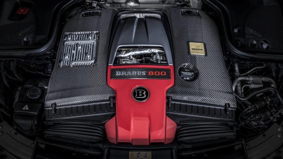 В Женеве представят экстремальный седан Mercedes-AMG E63 S от Brabus