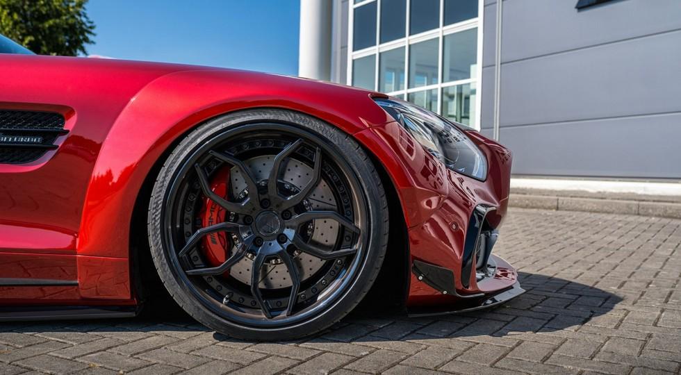 Ателье Prior Design представило Mercedes-AMG GT S с тюнинг-пакетом