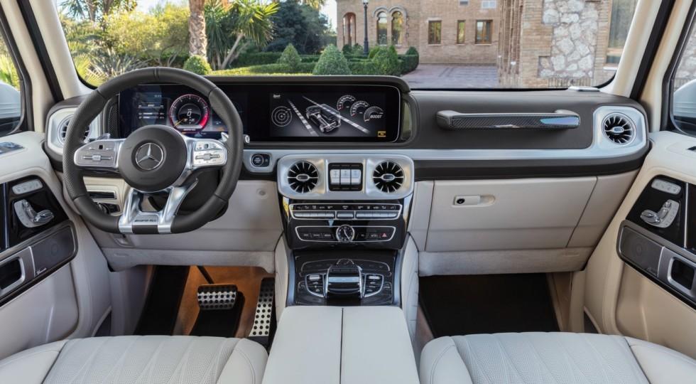 Объявлены российские цены на внедорожник Mercedes-AMG G 63