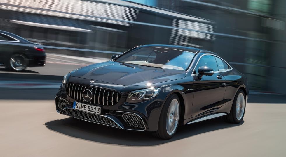 Mercedes-Benz назвала рублёвые цены на обновлённое купе S-Class Coupe