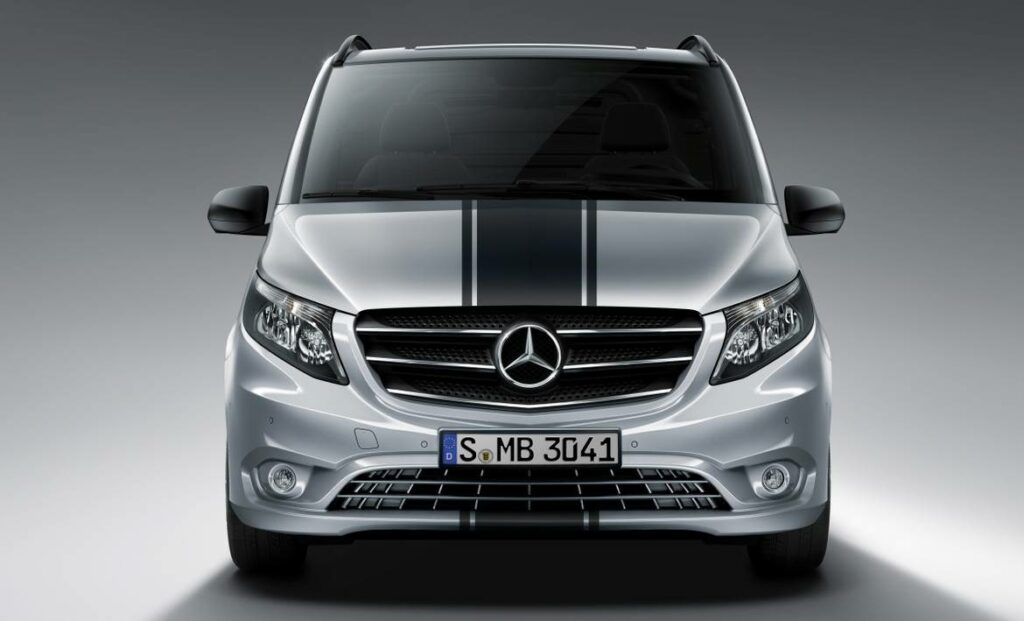 Новый спортивный минивэн Mercedes-Benz Vito Sport Line приедет в Россию