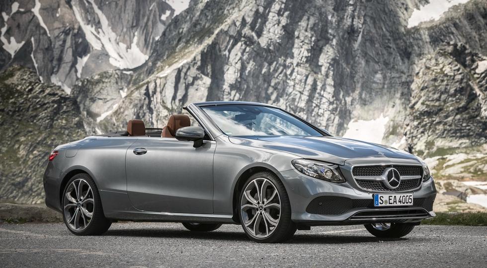 Названы российские цены на кабриолет Mercedes E-Class нового поколения