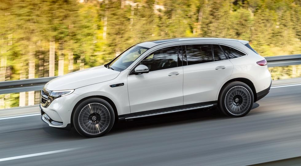Электрокроссовер Mercedes-Benz EQC сертифицировали для России