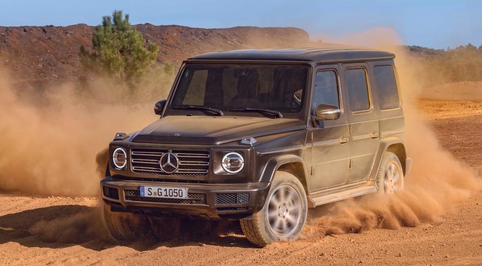 Mercedes-Benz представила внедорожник G-Class нового поколения