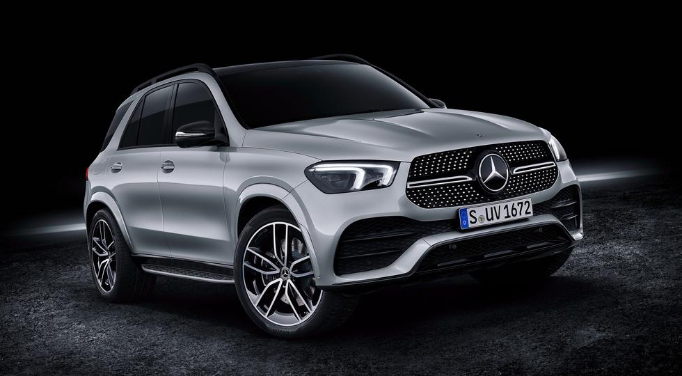 Новый кроссовер Mercedes-Benz GLE получил два мощных дизеля