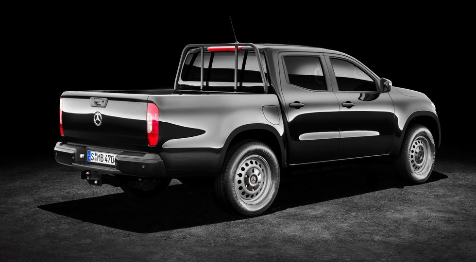 В Мерседес-Бенс объявили русские цены напикап X-Class