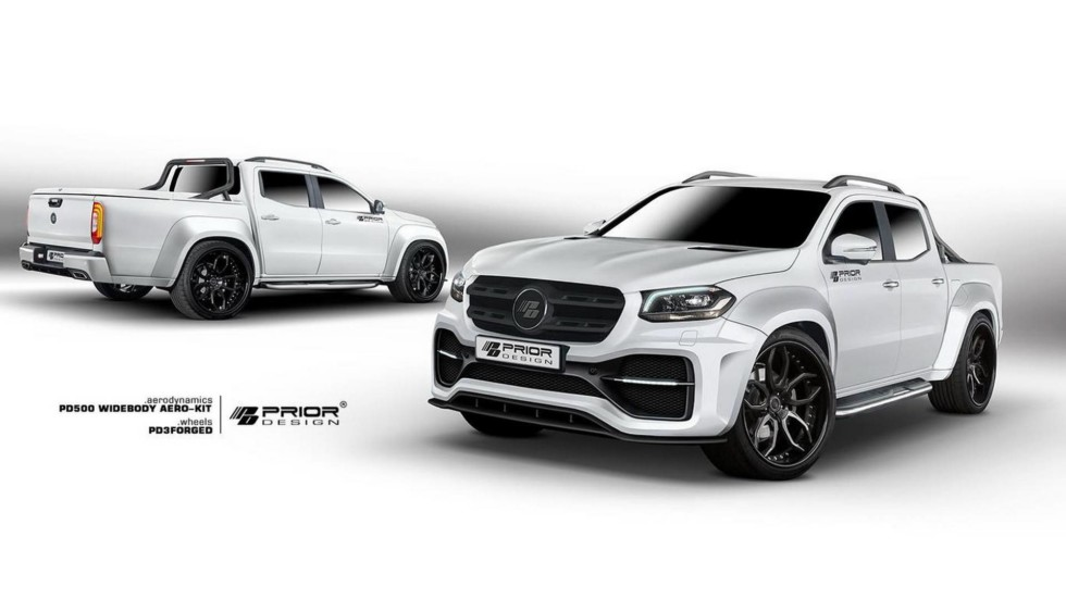Prior Design представила агрессивный тюнинг для пикапа Mercedes-Benz X-Class