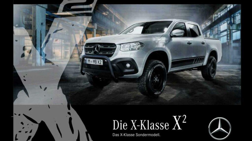 Пикап Mercedes-Benz X-Klasse получил новый пакет доработок