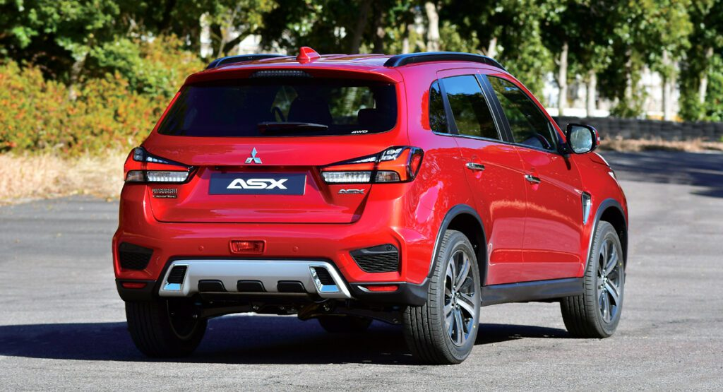 Mitsubishi показала обновленный кроссовер Mitsubishi ASX
