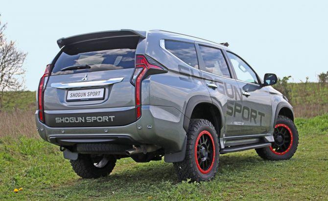 Mitsubishi показала новый Pajero Sport для тяжелого бездорожья
