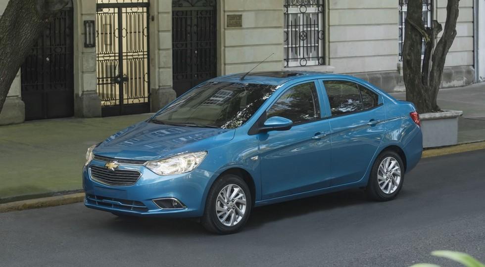 Chevrolet официально представила «новый» седан Chevrolet Aveo
