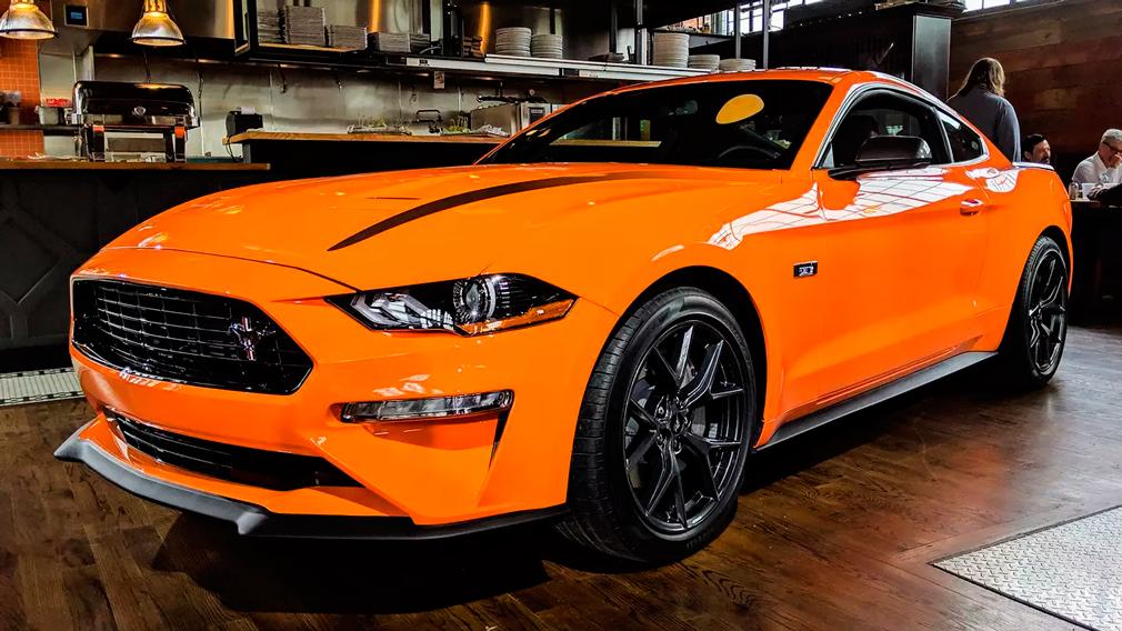 Ford Mustang 2020 получил новую модификацию High Performance