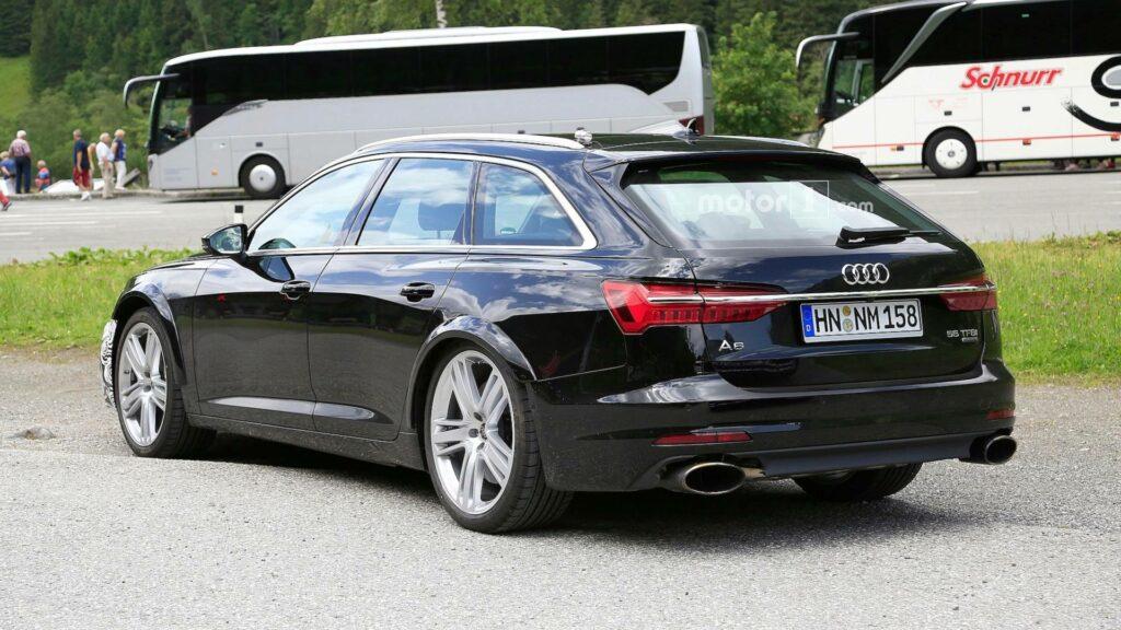 Новый универсал Audi RS6 Avant замечен на тестах почти без камуфляжа