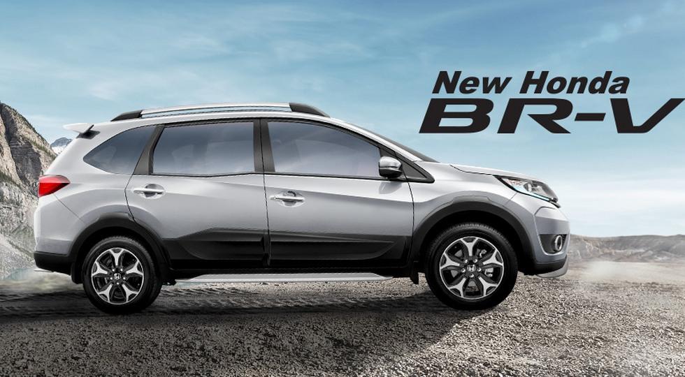 Honda представила новый 7-местный кроссовер Honda BR-V